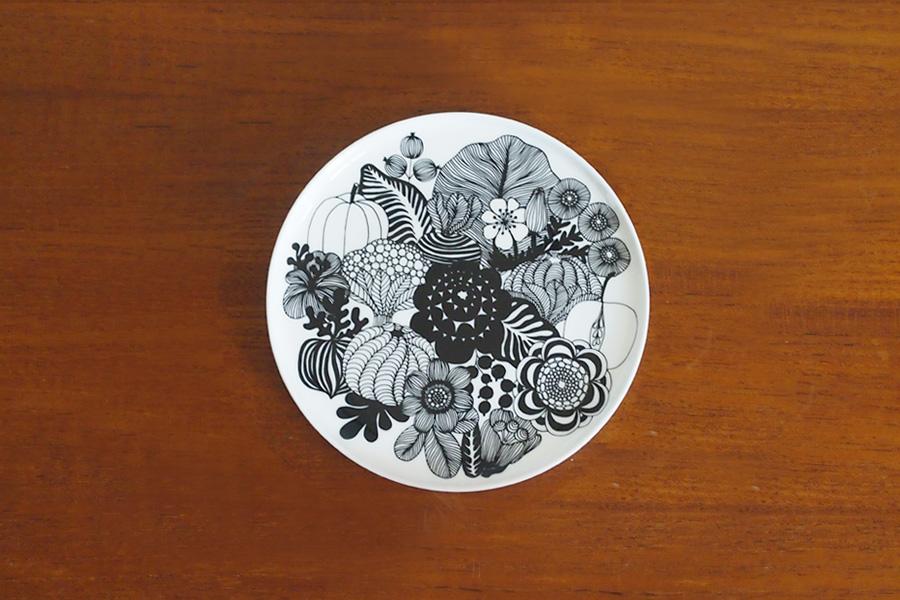 野菜&花柄皿