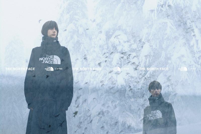 THE NORTH FACE×HYKE 2019秋冬コレクション