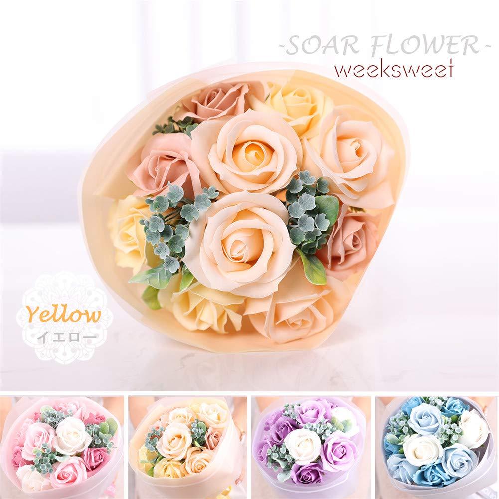 ソープフラワー お見舞いバラ造花 花束