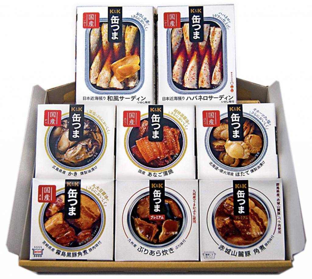 国分グループ 缶つまプレミアム「豪華8種詰め合わせ」