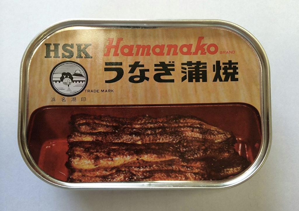 浜名湖食品「うなぎ蒲焼き缶詰」
