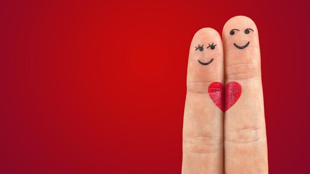 ペアの指の画像