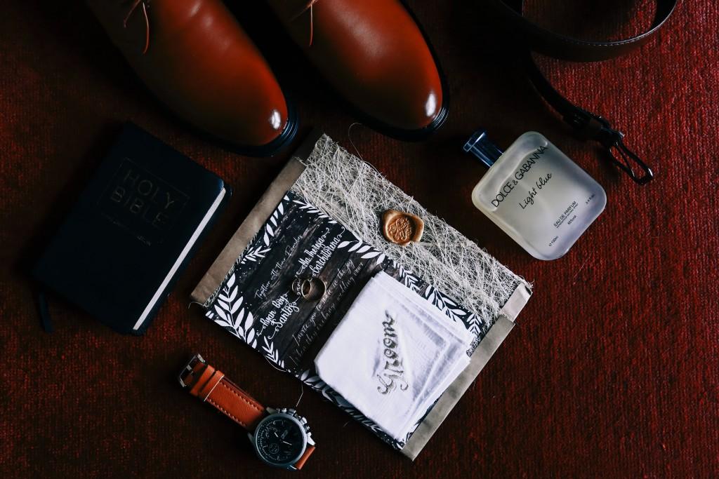 ハンカチとファッションアイテム