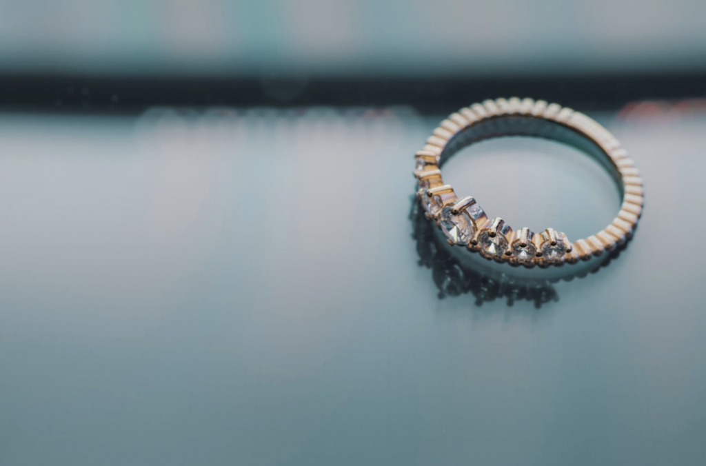 ダイアモンドのリング